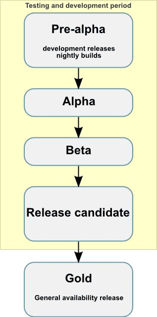 Life cycle of a software